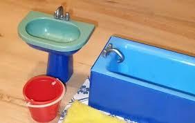 puppenstube puppenhaus bad badezimmer puppen ddr 70er retro
