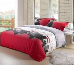 Mickey Mouse King Size forter Set Queen Bed Mickey Mouse Queen