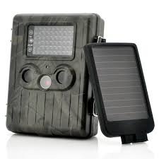 solartrail éra avec détecteur de mouvement et panneau solaire