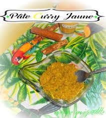 pâte de curry jaune maison pour curry indien le de cuisine