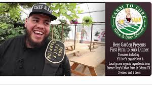 100 Alan Farmer Trucking Farm To Fork At Midland Beer Garden YouTube