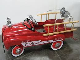 Burns Novelty Toy NEW Fire Truck Pedal Car 1960s Murry Fire Truck Pedal Car Buffyscarscom Vintage Volunteer Dept No 1 By Gearbox Syot Deluxe Fire Truck Pedal Car Best Choice Products Ride On Truck Speedster Metal Kids John Deere M15 Nashville 2015 Kalee Toys From Pramcentre Uk Wendy Chidester Engine Pedal Car Pating For Sale At 1stdibs Radio Flyer Fire Dolapmagnetbandco 60sera Blue Moon Vintage Ford Gearbox Superman Awespiring Instep Baghera Red Neiman Marcus