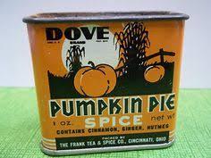 Mccormick Pumpkin Pie Spice Nutrition Facts by Mccormick Pumpkin Pie Spice 1950 U0027s Spice Tins Pumpkin Pie