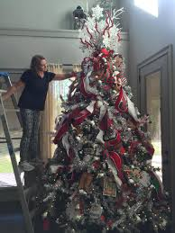 Raz Artificial Christmas Trees by Decorating Carrie U0027s House 2016 Living Area Tree Trendy Tree