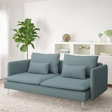 söderhamn 3er sofa finnsta türkis ikea österreich
