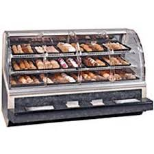 Federal SN 77 SS 77in Non Refrigerated Dry Bakery Deli Case Self Serve