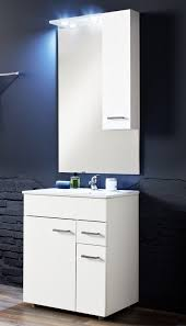 badezimmer set minka inkl waschbecken weiß hochglanz lack led beleuchtung 4 teilig