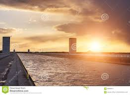 100 Magdeburg Water Bridge Across River ElbeHavel Canal In
