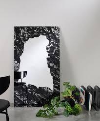 casa padrino designer wandspiegel schwarz 70 x h 123 cm wohnzimmer spiegel garderoben spiegel luxus kollektion