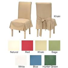 Dining Room Chair Slipcovers Short Uk White