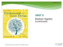 Fundamentals of Logic Design 7 th editionRoth Kinney © 2014