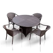 TOLEDO DINING ARM CHAIR Synthetic Wicker Rattan Dining Furniture