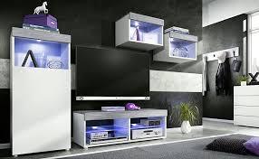 mit rgb led beleuchtung modernes wohnzimmer möbel set vladon