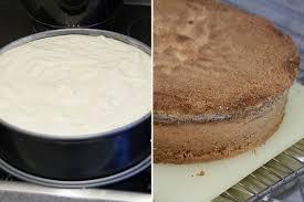 nusstorte mit kaffeecreme und kirschen vanillakitchen