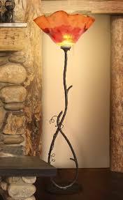 Franklin Iron Works Floor Lamp by Mathews Company San Saba 70