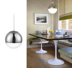 nook lights kitchen chandelier lighting coastal
