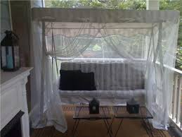 mosquito netting over swing Home To Do s Pinterest