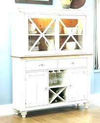 Dining Hutches And Buffets Room Buffet Kitchen Hutch Painted In Soft Grey With