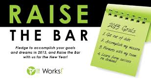 The New Year Means Dreams And Goals Will You Raise Bar In 2013 CEO Mark Pentecost Challenges To Write Down Your Business Personal