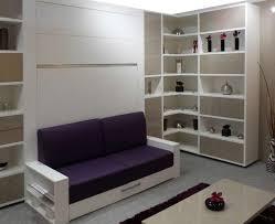 lit avec canapé armoire lit escamotable avec canape squadra jacquelin couchage 160cm