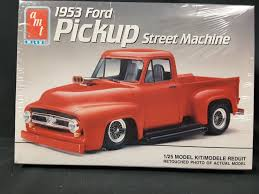 AMT ERTL 1953 Ford F100 Truck Pickup Street Machine Flip Tilt Nose ... 1953 Ford F100 1957 Chevrolet 1948 Trucks Hot Rod Fseries Second Generation Wikipedia Truck Stock Photos Images Alamy Classic Car Studios Restomod Review The Fancy For Sale Near Cadillac Michigan 49601 Classics On Rob Campbell Total Cost Involved 31956 Archives Chip Foose Customized Fetches 1700 At Auction Pick