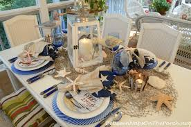 Nautical Table Setting Tablescape With David Carter Brown