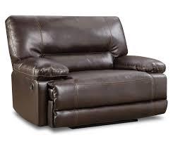 roman chocolate snuggle up recliner at big lots furniture