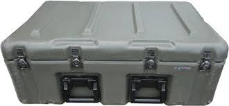 Hardigg Hard Plastic Waterproof Storage Chest with Wheels