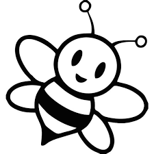 Chibi Bumble Bee Coloring Pages