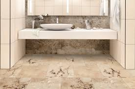 how to travertine for the bathroom