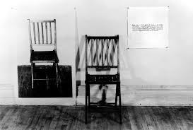 100 Folding Chair Art Joseph Kosuth One And Three S Smarthistory