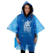 autism speaks rain poncho autism speaks