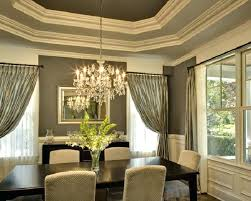 Dining Room Drapes Ideas Curtains Formal Curtain Decoration In