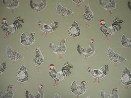 Fabric For Curtains Uk by Clarke U0026 Clarke Rooster Sage Cotton Curtain Fabric