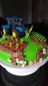 torte mit traktor kindergeburtstag kuchen ideen traktor