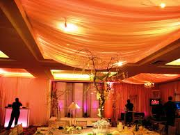 Image Of Ceiling Decorations For Wedding Reception