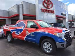 Hoselton Auto Mall: The Buffalo Bills Training Camp Toyota Truck Is ... Used Forklifts Rochester Ny Over 100 Forklifts In Stock And Ready 1433132 Fire Department Cars Trucks Highline Motor Car Srhucktndcomnewlrforsalochesternydream Suburban Disposal Providing Residential Trash Freightliner Business Class M2 106 In For Sale Scottsville Auto Sales 14624 Buy Here Pay Forklift Simmons Rockwell Chevrolet Bath Buffalo Ultimate Spot New Service