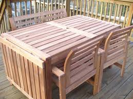 how to make wood patio table modern table design