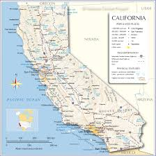 California Road Map Large With Of Cities In Northern