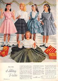 Vintage Dresses Ideas For Little Girls From The 1950s Dapper Day Outfit