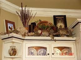 Primitive Decor Kitchen Cabinets by Decor Above Kitchen Cabinets Exquisite Decorate Kitchen Cabinets