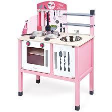 janod j06533 rosa spielküche aus holz mademoiselle