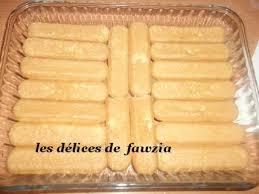 dessert avec des boudoirs les desserts les délices de fawzia