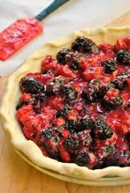 Get your fruit fix in with this Mixed Berry Pie This recipe is super simple Strawberry Blueberry
