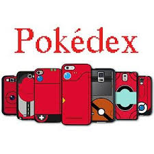 Pokedex Phone Case iPhone 4S 5 5S Galaxy S3 S4 S5 S6 Active Edge