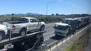 SH1 North Of Wellington Re-opens After Epic Closure Caused By Truck ...