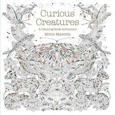 Curious Creatures A Coloring Book Adventure