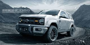 New Ford Bronco - 2020 Ford Bronco Details, News, Photos, And More