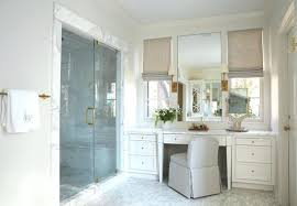 Bathroom Makeup Vanity Height by Photos Small Bathroom Makeup Vanity With Stool Lights Height