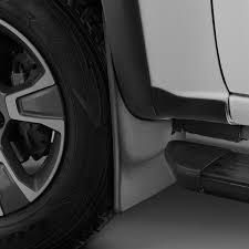 Chevy Colorado Weathertech Floor Mats by Weathertech Chevy Colorado 2015 2017 Digitalfit Black Mud Flaps